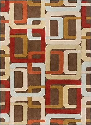 Surya Forum FM7106-46 Hand Tufted Rug, 4' x 6' Rectangle