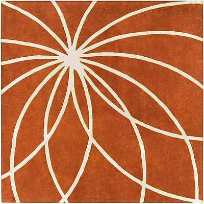 Surya Forum FM7175-6SQ Hand Tufted Rug, 6' Square