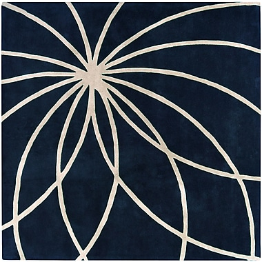 Surya Forum FM7186-4SQ Hand Tufted Rug, 4' Square