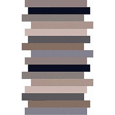 Surya Geometrix GMX7011-811 Hand Tufted Rug, 8' x 11' Rectangle