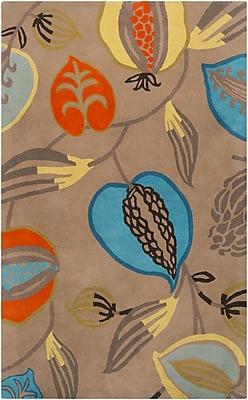 Surya Harlequin HQL8001-58 Hand Tufted Rug, 5' x 8' Rectangle
