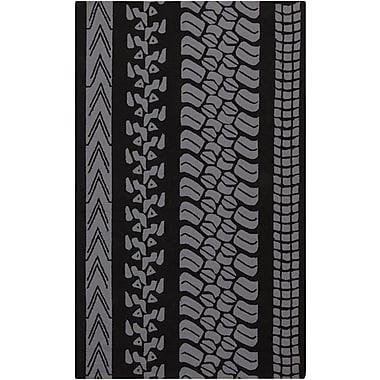 Surya Mike Farrell Pandemonium PDM1006-35 Hand Hooked Rug, 3' x 5' Rectangle