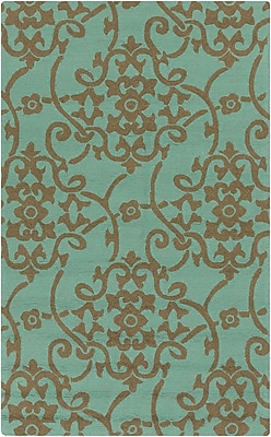 Surya Rain RAI1196-23 Hand Hooked Rug, 2' x 3' Rectangle