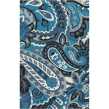 Surya Rain RAI1224-912 Hand Hooked Rug, 9' x 12' Rectangle