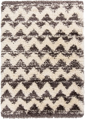 Surya Rhapsody RHA1028-58 Hand Woven Rug, 5' x 8' Rectangle