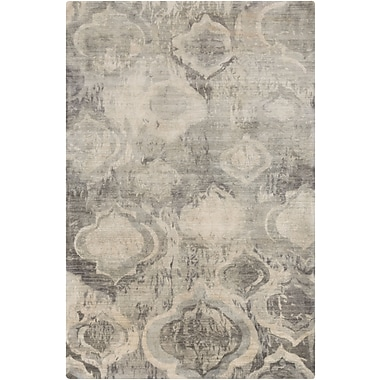 Surya Watercolor WAT5009-58 Hand Knotted Rug, 5' x 8' Rectangle