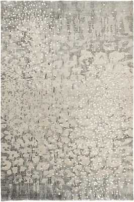 Surya Watercolor WAT5011-23 Hand Knotted Rug, 2' x 3' Rectangle