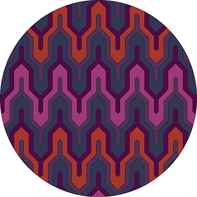 Surya Brentwood BNT7703-3RD Hand Hooked Rug, 3' Round