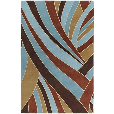 Surya Forum FM7002-46 Hand Tufted Rug, 4' x 6' Rectangle