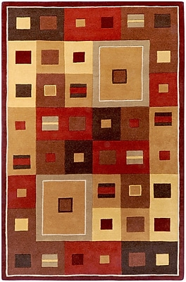 Surya Forum FM7014-811 Hand Tufted Rug, 8' x 11' Rectangle