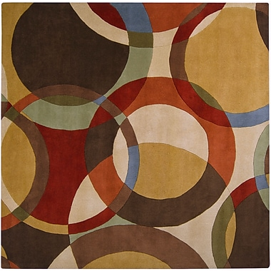 Surya Forum FM7108-6SQ Hand Tufted Rug, 6' Square