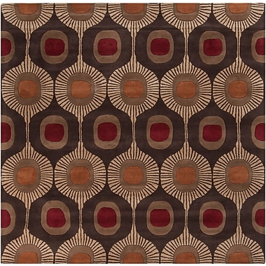 Surya Forum FM7170-6SQ Hand Tufted Rug, 6' Square