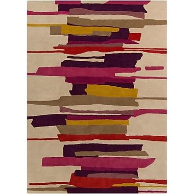 Surya Harlequin HQL8027-58 Hand Tufted Rug, 5' x 8' Rectangle