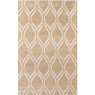 Surya Stamped STM820-58 Hand Tufted Rug, 5' x 8' Rectangle