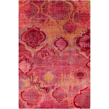 Surya Watercolor WAT5006-23 Hand Knotted Rug, 2' x 3' Rectangle