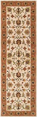 "Surya Crowne CRN6004-268 Hand Tufted Rug, 2'6"" x 8' Rectangle"