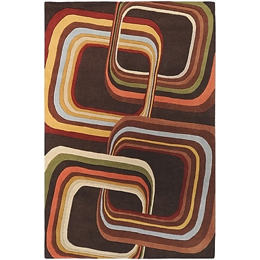 Surya Campbell Laird Forum FM7007-69 Hand Tufted Rug, 6' x 9' Rectangle