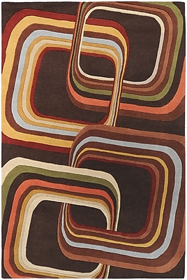 "Surya Campbell Laird Forum FM7007-7696 Hand Tufted Rug, 7'6"" x 9'6"" Rectangle"