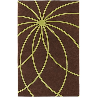 Surya Forum FM7073-312 Hand Tufted Rug, 3' x 12' Rectangle