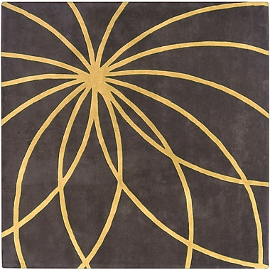 Surya Forum FM7181-6SQ Hand Tufted Rug, 6' Square