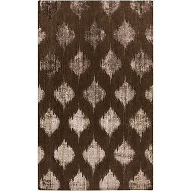Surya Mugal IN8606-58 Hand Knotted Rug, 5' x 8' Rectangle