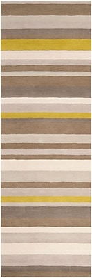 Surya Angelo Home Madison Square MDS1009-268 Hand Loomed Rug, 2'6