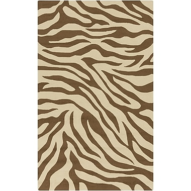 Surya Rain RAI1171-810 Hand Hooked Rug, 8' x 10' Rectangle