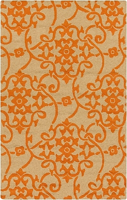 Surya Rain RAI1195-912 Hand Hooked Rug, 9' x 12' Rectangle