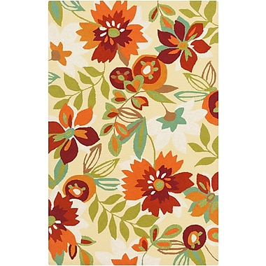 Surya Rain RAI1218-23 Hand Hooked Rug, 2' x 3' Rectangle