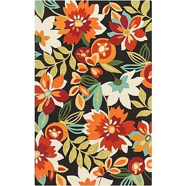 Surya Rain RAI1219-810 Hand Hooked Rug, 8' x 10' Rectangle