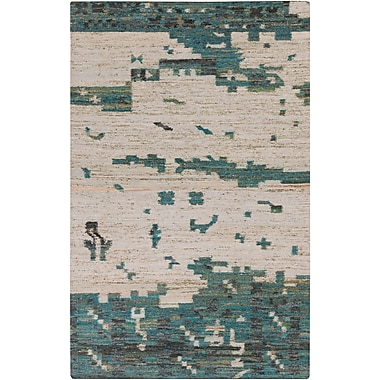 Surya Rustic RUT702-58 Hand Woven Rug, 5' x 8' Rectangle