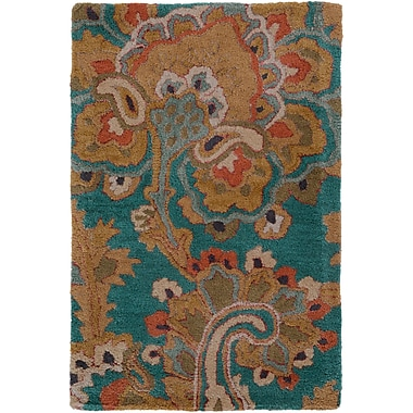 Surya Sea SEA168-811 Hand Tufted Rug, 8' x 11' Rectangle