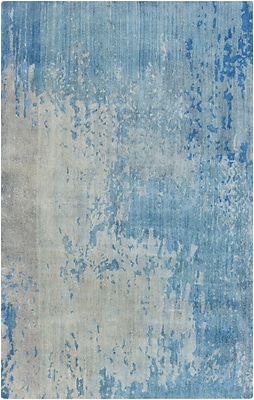 Surya Watercolor WAT5002-58 Hand Knotted Rug, 5' x 8' Rectangle