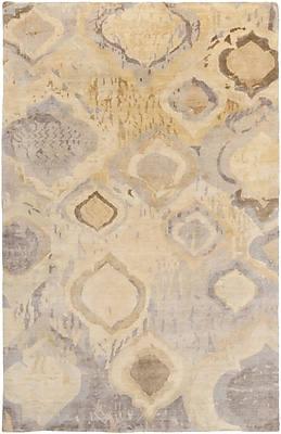 Surya Watercolor WAT5010-58 Hand Knotted Rug, 5' x 8' Rectangle
