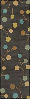 "Surya Athena ATH5110-268 Hand Tufted Rug, 2'6"" x 8' Rectangle"