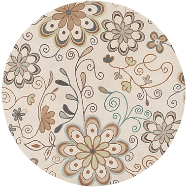Surya Athena ATH5123-8RD Hand Tufted Rug, 8' Round