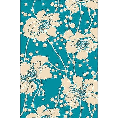 Surya Florence Broadhurst Bondi Beach BBC2002-912 Hand Hooked Rug, 9' x 12' Rectangle