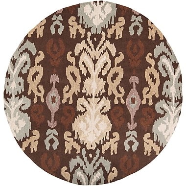 Surya Brentwood BNT7673-4RD Hand Hooked Rug, 4' Round