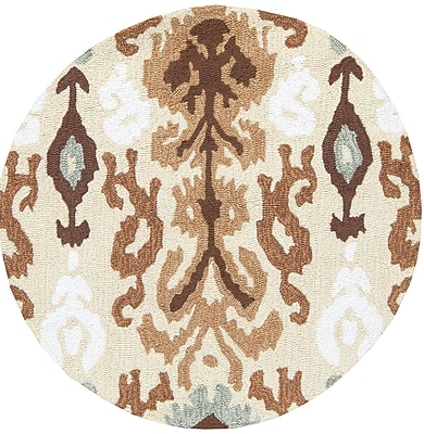 Surya Brentwood BNT7674-3RD Hand Hooked Rug, 3' Round