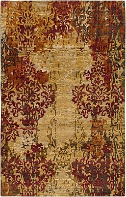 Surya Brocade BRC1002-811 Hand Knotted Rug, 8' x 11' Rectangle