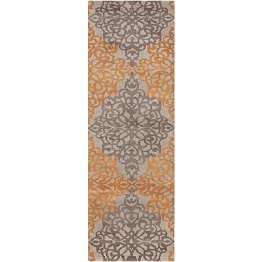 Surya Caspian CAS9914-268 Hand Knotted Rug, 2'6