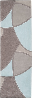 "Surya Cosmopolitan COS8888-268 Hand Tufted Rug, 2'6"" x 8' Rectangle"
