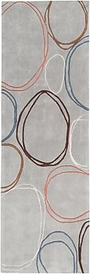 Surya Cosmopolitan COS8992-268 Hand Tufted Rug, 2'6