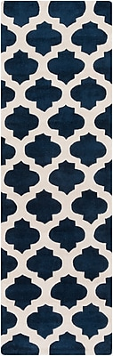 "Surya Cosmopolitan COS9226-268 Hand Tufted Rug, 2'6"" x 8' Rectangle"