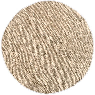 Surya Continental COT1930-8RD Hand Woven Rug, 8' Round