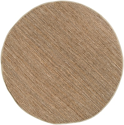 Surya Continental COT1931-8RD Hand Woven Rug, 8' Round