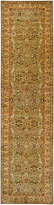 Surya Crowne CRN6001-312 Hand Tufted Rug, 3' x 12' Rectangle