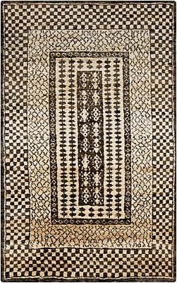Surya Casablanca CSB7001-58 Hand Knotted Rug, 5' x 8' Rectangle
