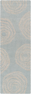 Surya Lotta Jansdotter Decorativa DCR4009-268 Hand Tufted Rug, 2'6