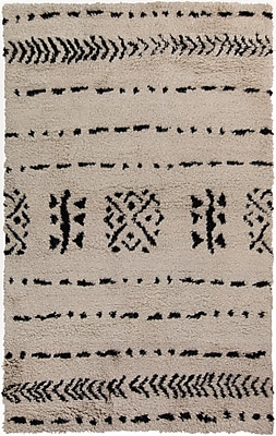 Surya Denali DEN5000-58 Hand Knotted Rug, 5' x 8' Rectangle